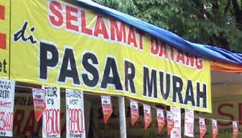 Gelar Pasar Murah, Mooduto Minta Konfirmasi Harga Bapok ke Provinsi