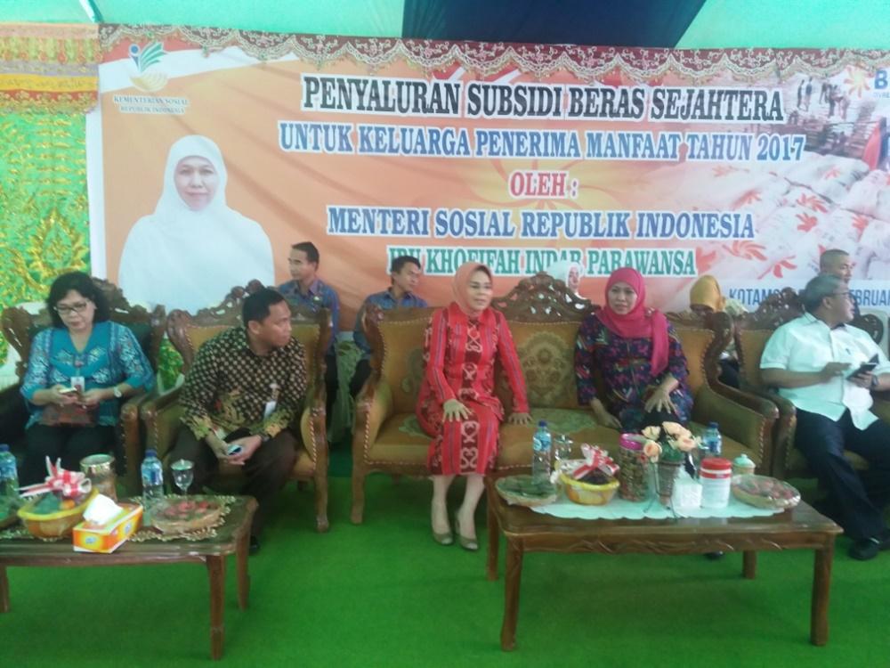 Walikota Terima Kunjungan Menteri Sosial
