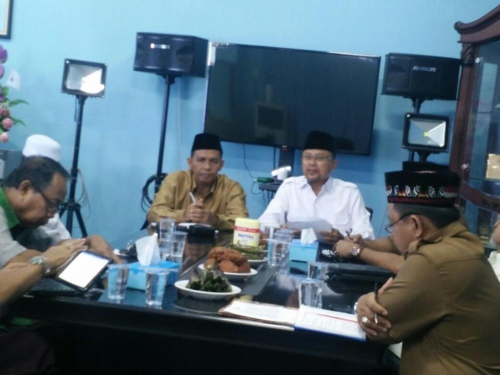 Rapat Perdana Ketua LPTQ Sulut Bahas STQ Tingkat Provinsi