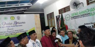 Muhamadiyah Kota Manado Hadirkan Herson di Buka Puasa Bersama