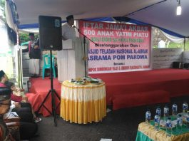 Bupati Bolsel Buka Puasa Bersama Anak Yatim dan Imam se Kota Manado