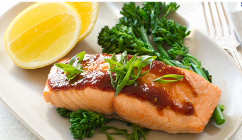 Daily Consumption of Fish and Green Vegetables Can Lower Risk Getting Various Diseases