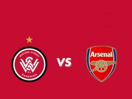 Live Streaming Western Sydney Wanderers vs Arsenal