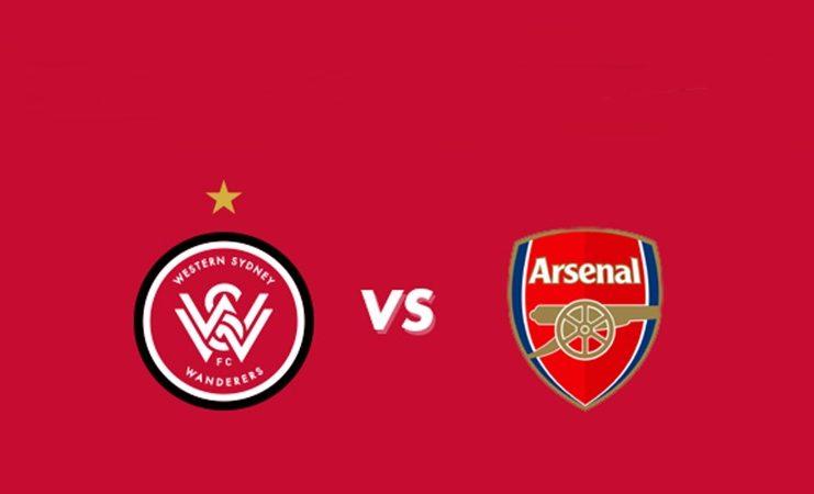 Live Streaming Western Sydney Wanderers vs Arsenal