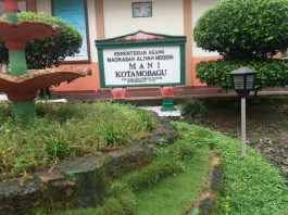 Pemilihan Ketua OSIS MAN Kotamobagu, Digelar Secara Demokrasi