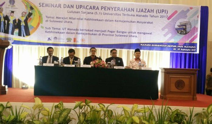 Bupati Jadi Pembicara di UPI UT