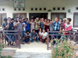 Herson Mayulu Diterima Warga Nusa Utara-Molobog Boltim