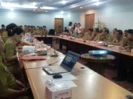 Plh Sekda Bolsel Ikuti Rapat Singkronisasi Pembangunan Daerah
