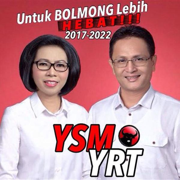 Harapan Rakyat Bolmong Searah Visi Misi Yasti – Yanny