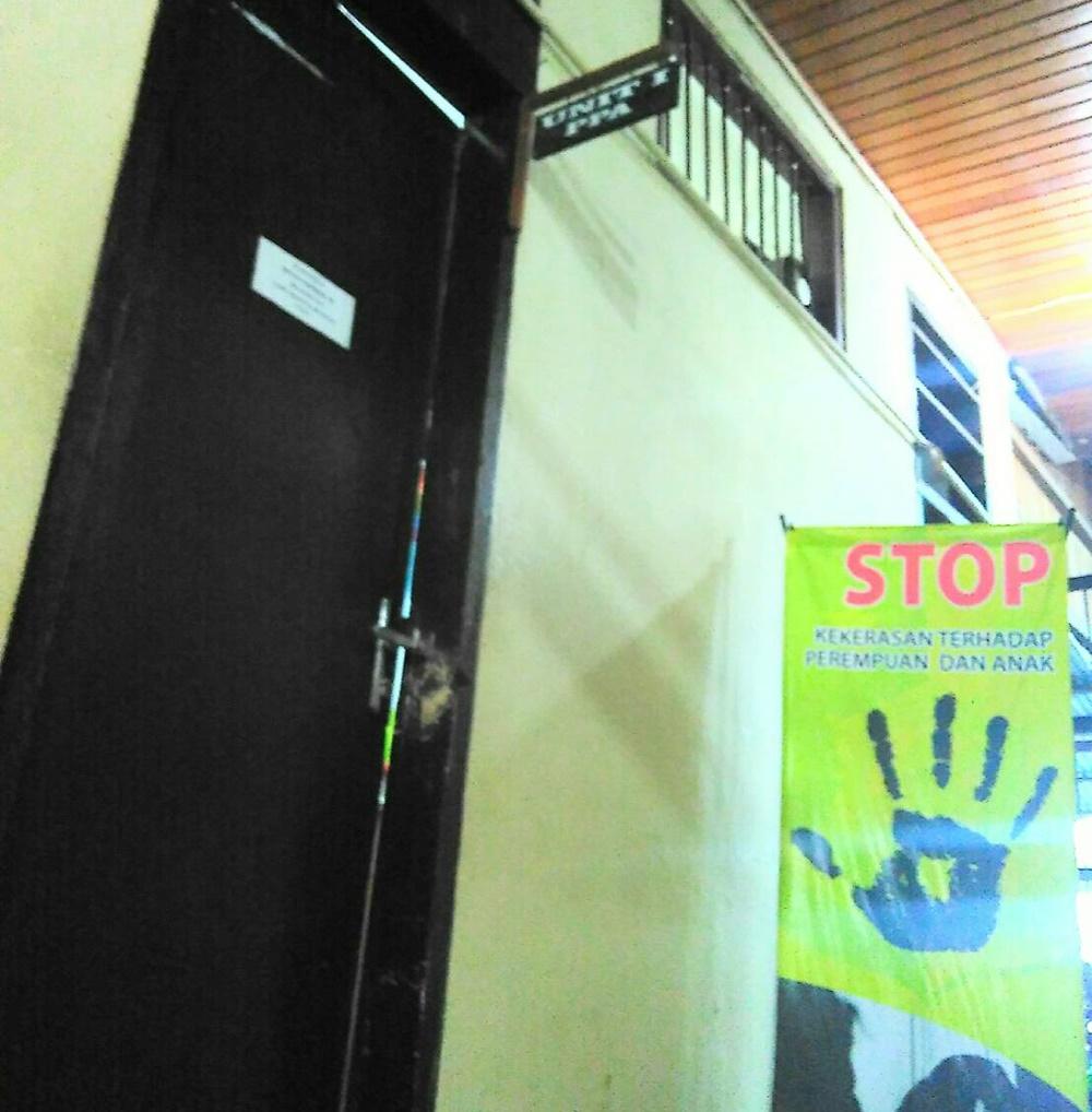 Ruang Penyidik Unit I Perlindungan Perempuan dan Anak Polres Bolmong