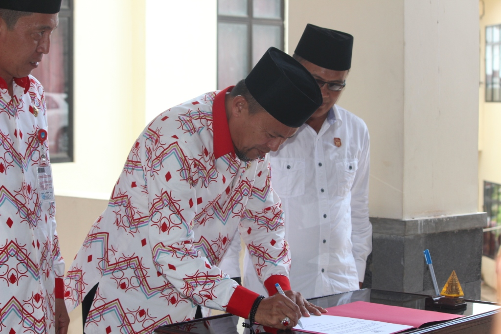 Inilah Daftar Nama-Nama Pejabat Pengisian OPD Baru Kabupaten Bolsel