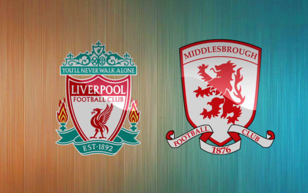 Live Streaming Liverpool vs Middlesbrough